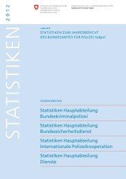 2 0 12 Statistiken Hauptabteilung Bundeskriminalpolizei ... - EJPD
