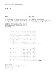 ECG Quiz - Hong Kong College of Emergency Medicine