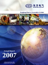 DEC Ltd. Annual Report 2007