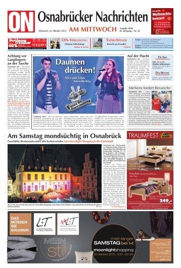 Vorschule in Ost-Afrika - ePaper - Osnabrücker Nachrichten