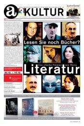 Lesen Sie noch Bücher? - a3kultur