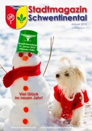 Januar - Stadtmagazin Schwentinental