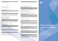 Veranstaltungsprogramm September/Oktober 2013 - Stadt Aalen