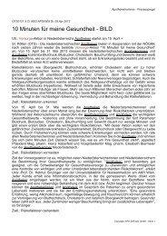 Medienberichte Clippings_klein.pdf - Österreichische ...