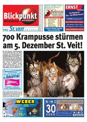 700 Krampusse stürmen am 5. Dezember St. Veit! - Pixelpoint ...
