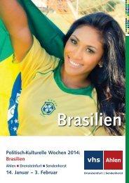 Politisch-Kulturelle Wochen 2014: Brasilien 14 ... - FUgE Hamm