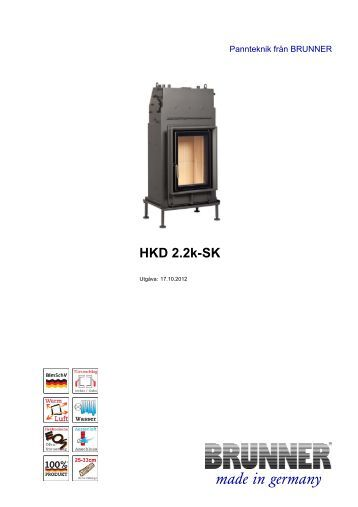 HKD 2.2k-SK made in germany - Brunner