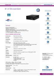 BT ½ 19inch 2HE Leopard System - BRESSNER Technology Gmbh