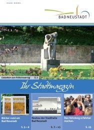 Stadtmagazin November 2013. - Stadt Bad Neustadt an der Saale
