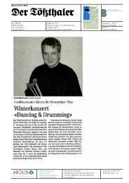 Winterkonzert - Hochschule der Künste Bern