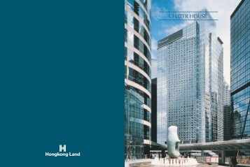 CHATER House BROCHURE A/W - Hongkong Land