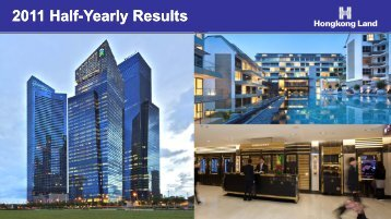 2011 Half-Yearly Results - Hongkong Land