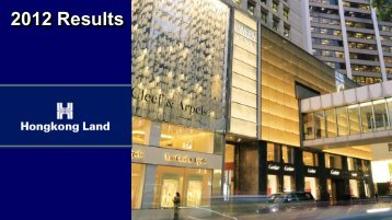 Analyst Presentation - Hongkong Land