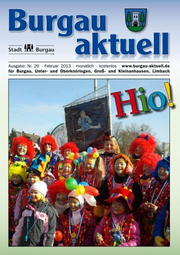 Ausgabe: Nr. 29 · Februar 2013 · monatlich ... - Stadt Burgau