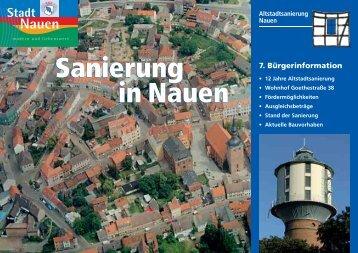 7. Bürgerinformation - Stadtkontor