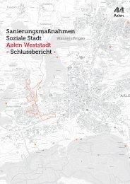 Schlussbericht - Stadt Aalen