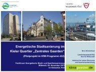 PowerPointvorlage der Stadt Kiel - Investitionsbank Schleswig-Holstein
