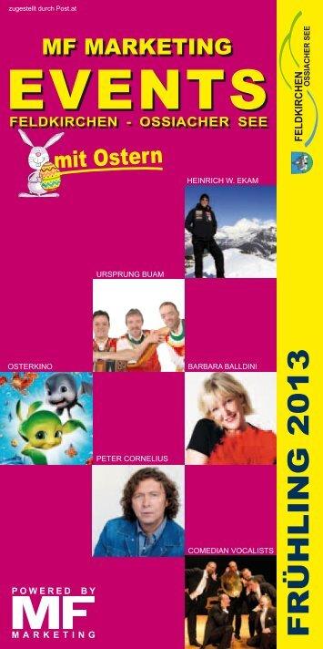 Stadtsaal Events Frühling 2013 downloaden - MF Marketing ...
