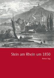 Stein am Rhein um 1850 - Museum Lindwurm