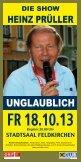 Stadtsaal Events Herbst 2013 downloaden - MF Marketing Feldkirchen - Seite 2