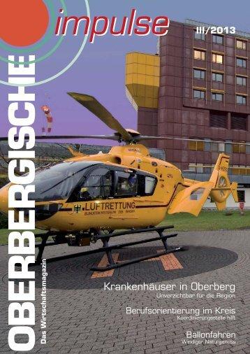 Krankenhäuser in Oberberg - und TechnologieCentrum ...