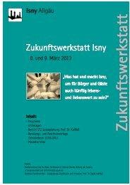 Bericht zur Veranstaltung im März 2013 -pdf-Datei ... - in Isny im Allgäu