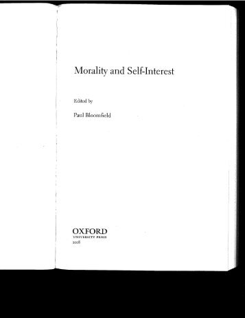 Nietzsche on Selfishness, Justice, and the - Harvard University