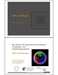 EKP - Institut für Experimentelle Kernphysik