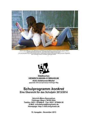 """""""Schulprogramm konkret"""" zum Download (PDF) - Heinrich Mann ..."""