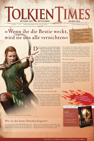 Download der TolkienTimes Oktober 2013 - Fantasy - Hobbit Presse