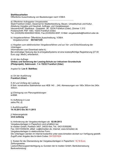 Gutach | öffentliche ausschreibung: sanierung ufermauer aulebach.