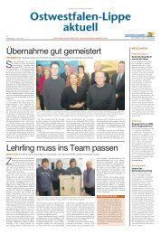 Nr. 7/2013 - Handwerkskammer Ostwestfalen-Lippe zu Bielefeld