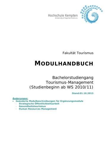 Modulhandbuch BA TO 2 Studienanfänger von WS 2010/2011 bis ...