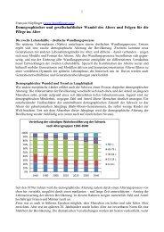 Demographischer und gesellschaftlicher Wandel ... - hoepflinger.com
