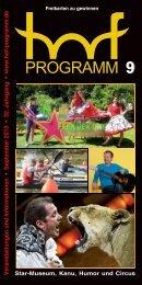 HP 09/2013 - Hof Programm