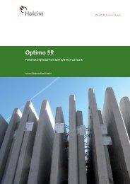 Optimo 5R - Holcim Süddeutschland