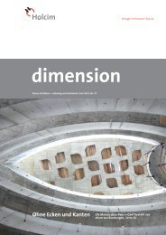 dimension; PDF-Datei,2'920 KB - Holcim Schweiz