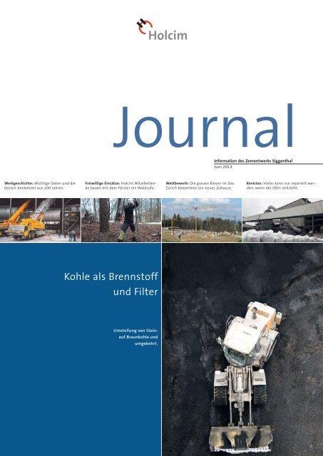 Journal Siggenthal Juni 2013 (PDF-Datei, 1.5 MB) - Holcim Schweiz