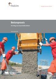 Betonpraxis - Holcim Schweiz