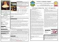 Bulletin 11th August 2013