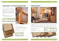 treppenstufen - und treppenwangenplatten ... - Holz Ahmerkamp