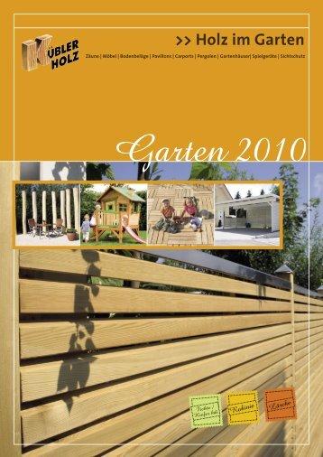 Holz im Garten - Holzwerk Kübler GmbH