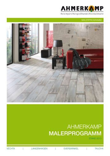 Katalog downloaden - Holz Ahmerkamp
