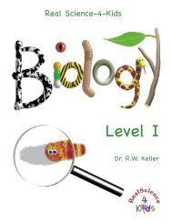 Real Science for Kids Biology Textbook Sample Pages