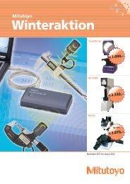 Winteraktion - Sartorius Nachf. GmbH & Co. KG