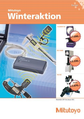 Winteraktion - Sartorius Nachf. GmbH & Co. KG