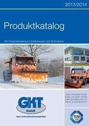 Produktkatalog. - GKT Gummi- und Kunststofftechnik Fürstenwalde ...