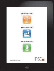 Geschäftsbericht 2012 - PSI AG