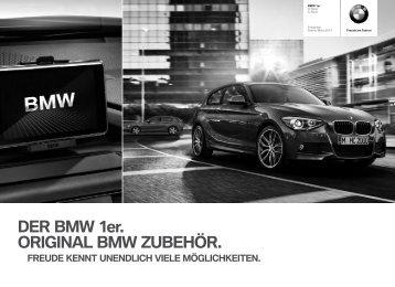 Zubehör BMW 1er 3-Türer & 5-Türer Preisliste
