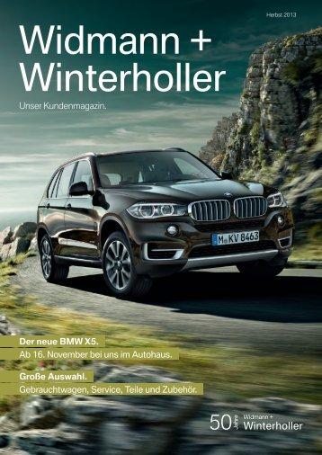 Der neue BMW X5. - Widmann + Winterholler